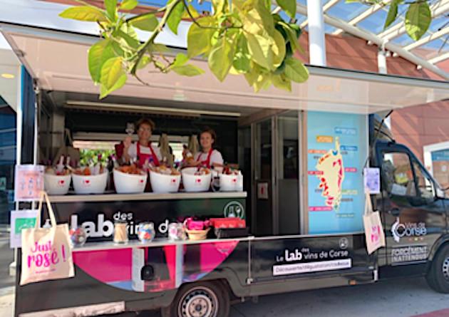 """""""Just Rosés"""" ! Le Wine truck des vins corses commence sa tournée aoûtienne !"""