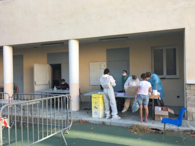 La campagne de dépistage de Bastia