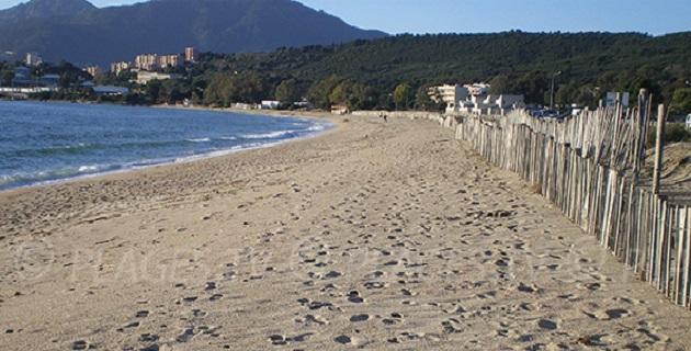 Ajaccio. L'interdiction de baignade et de pêche à la plage du Lazaret levée