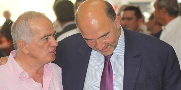 Escapade calvaise pour Pierre Moscovici