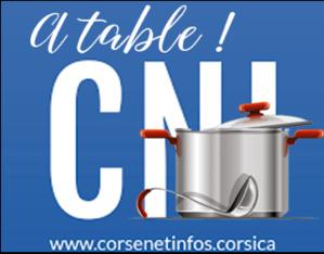 A table : crevettes flambées au muscat corse