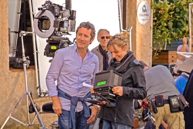 Méliane Marcaggi sur le tournage de Belle Fille © Angela Rossi