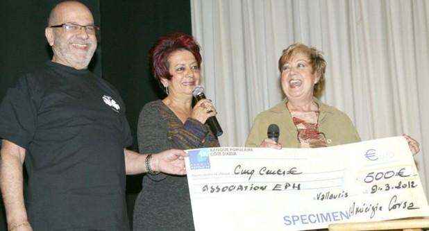 """Amicizia Corsa : Un don pour """"Ensemble pour le handicap"""""""