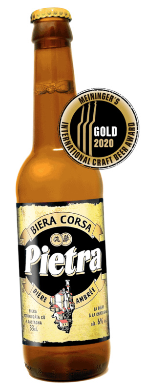 Meininger's International Craft Beer Award 2020 : l'or pour La Pietra