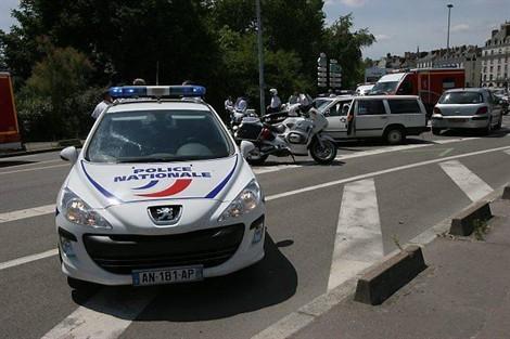 Ajaccio :Drôle d'accident en plein centre-ville d'Ajacio