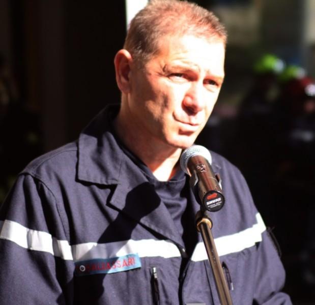 Pascal Thomas Colombani chef du centre de secours de L'Ile-Rousse