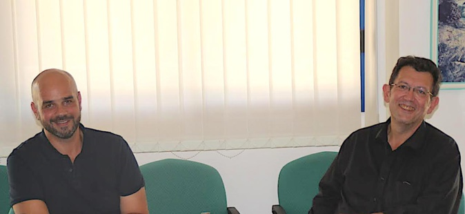 Antoine Albertini et Jean-Luc Bizien