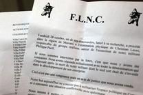 Grande distribution : C'était le FLNC-UC