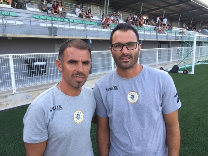 Patrick Videira, entraîneur, et son adjoint Cédric Ramos, se veulent ambitieux cette saison