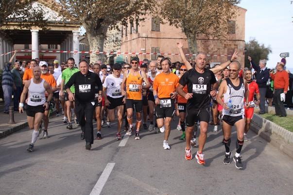 "Antoine De Wilde (Nevers) vainqueur de la course ""A Balanina"""