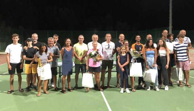 Tennis :  Bacquet et Raiola vainqueurs du tournoi du RCPV