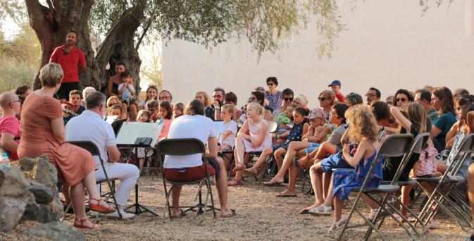 Les Rencontres de Calenzana ont fait le choix du plein air cette année © N2B