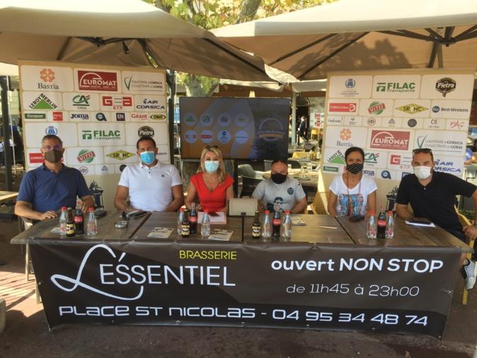 Organisateurs, partenaires, sponsors, marraine et parrain ont présenté ce lundi la 6ème édition de A Bucciata Bastiaccia