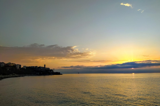 Bastia au petit matin (Philippe Neveux)