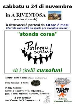 """Stonda Corsa"" incù i ziteddi cursofoni"