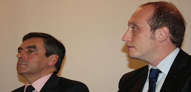 François Fillon fait campagne en Corse