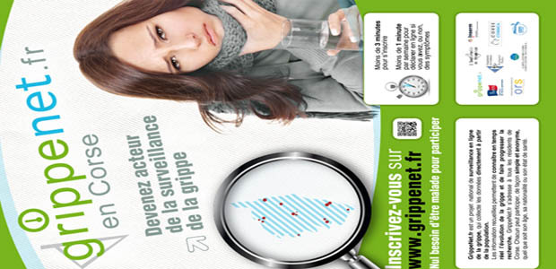 La campagne GrippeNet.fr démarre