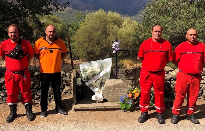 """Feliceto : le souvenir de Serge Martinelli et l'hommage aux acteurs de la Sécurité civile """"morts pour la défense des Corses"""""""
