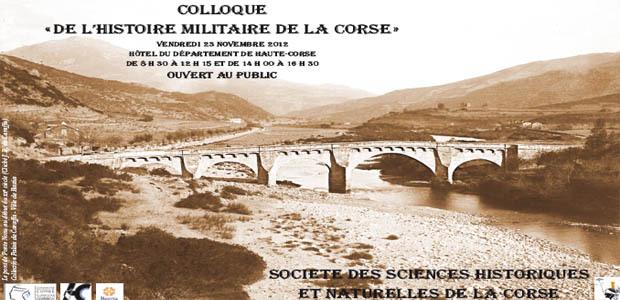 """""""De l'histoire militaire de la Corse"""""""