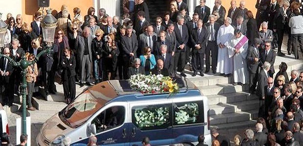 Ajaccio : L'émotion aux obsèques de Jacques Nacer