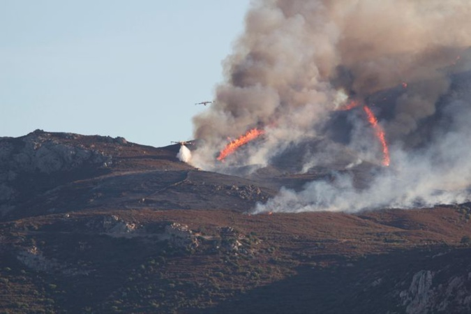 Incendie du col de Salvi : 200 hectares brûlés