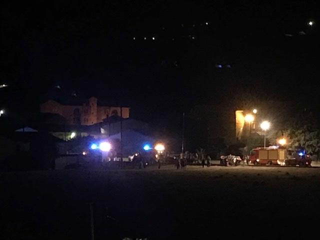 Accident de la route à Folelli, le 22 août dernier.