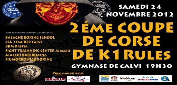 Coupe de Corse de K 1 Rules samedi à Calvi