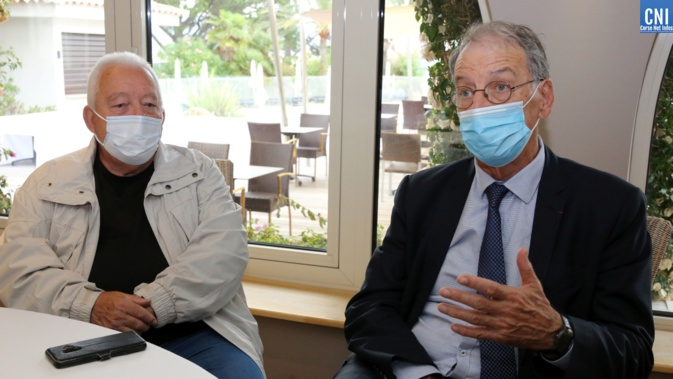 Pierre Santoni et Denis Masseglia (Photo Michel Luccioni)