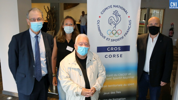Le président du Comité national olympique et sportif français (CNOSF) en « éclaireur » pour une nouvelle gouvernance du sport en Corse