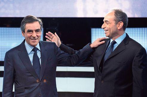 Le tandem Fillon/Copé au temps de l'unité... Aujourd'hui le torchon brûle et François Fillon a annoncé son intention d'aller en justice pour contester les résultats de l'élection de Jean-François Copé à l'UMP. (Photo: D.R)