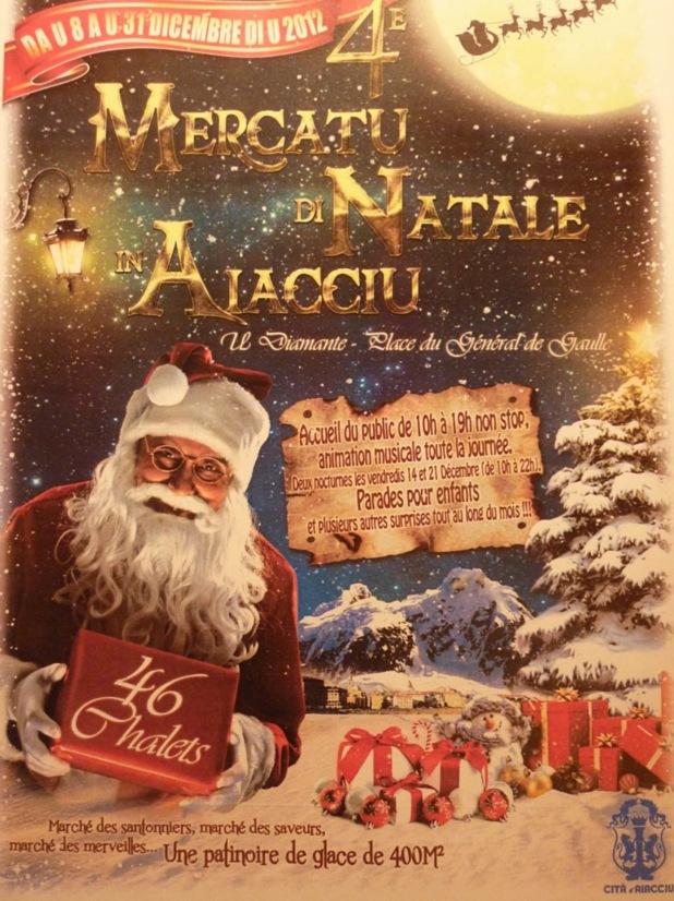 Ajaccio prépare ses festivités et son marché de Noël