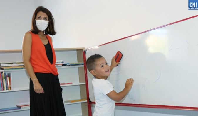 Une rentrée en toute sérénité pour la nouvelle école de Molini-Agosta
