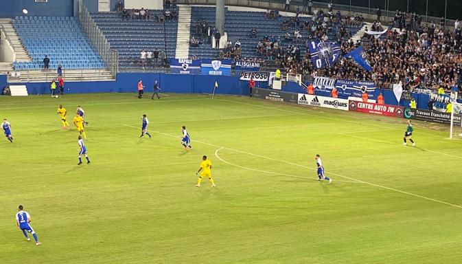 Douche froide à Furiani : le SCB battu par Boulogne (0-1)