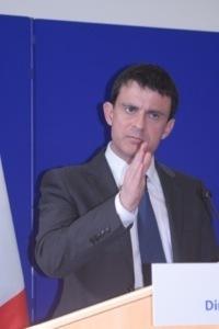 Manuel Valls a refusé de s'exprimer sur le taux d'élucidation quasi nul des affaires criminelles en Corse. (Photo: Maryline Santi)