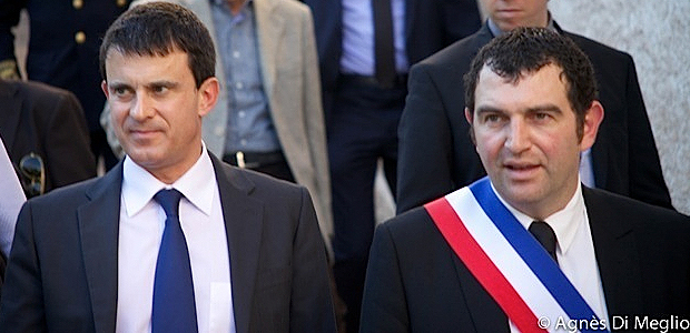 Manuel Valls à Bonifacio  : Faire passer un message optimiste
