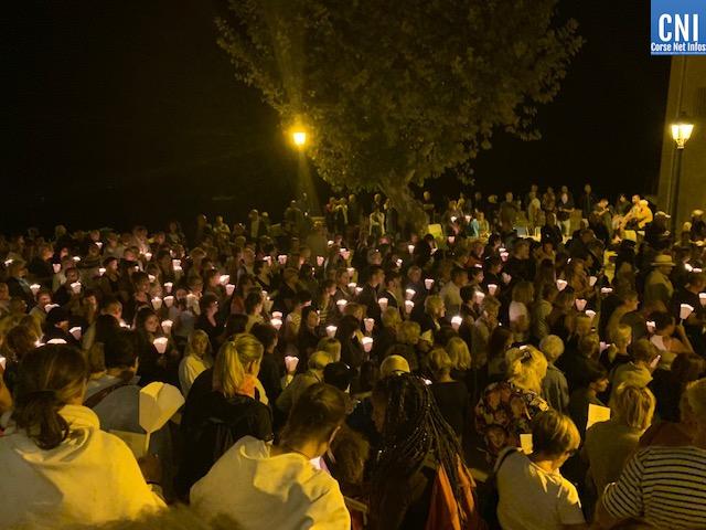 Chaque année, plus de 3000 personnes célèbre la vierge Marie à Lavasina.