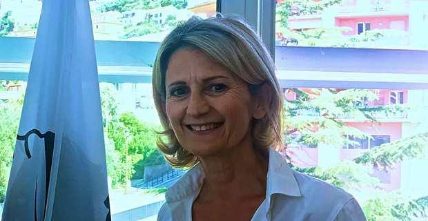 Nanette Maupertuis, conseillère exécutive en charge des affaires européennes et internationales à la Collectivité de Corse (CdC), membre du Comité européen des régions et présidente de l'Agence du Tourisme de la Corse (ATC).