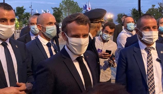Première étape ajaccienne pour Emmanuel Macron