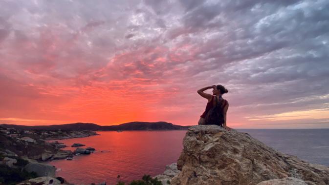La photo du jour : les couleurs magnifiques du ciel de Calvi