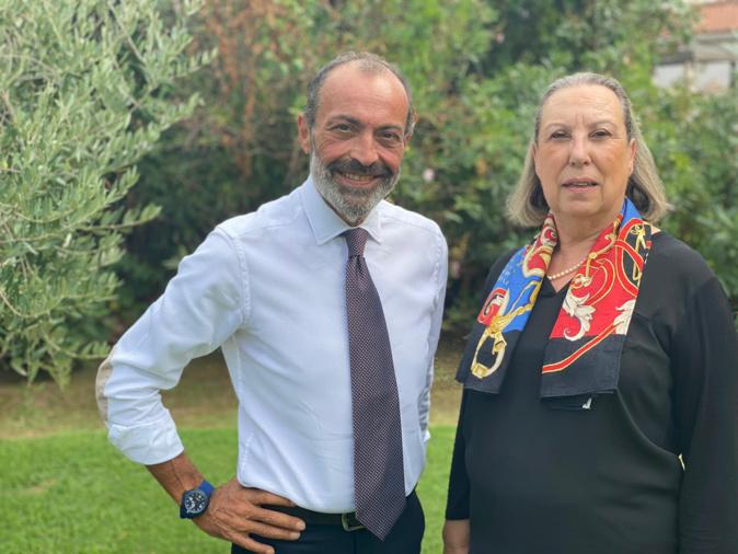 Jean-Simon Savelli et Monique Petrignani-Emanuelli,