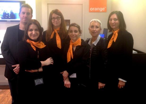 Borgo : Orange agrandit son espace de vente du centre commercial Sainte Dévote