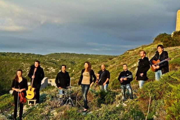 """C'est ce soir à partir de 21h30, que le collectif Dopu Cena représentera la Corse lors de la finale de l'eurovision des langues """"minoritaires"""" dans les Asturies. (Photo: DR)"""