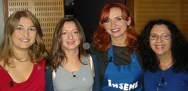 Le docteur Kunstmann, Rose-Marie Pasqualaggi et Nathalie Paoletti ( à droite) avant un récent passage à Inseme sur l'antenne de France 3. (Photo DR)