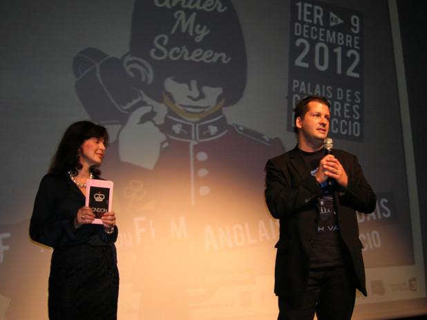 « C'est un honneur d'enrichir ce festival de notre participation »  a affirmé Miceal  O' Griafa, interprète/traducteur et scénariste de bandes dessinées et membre du jury. (Photo Yannis-Christophe Garcia)