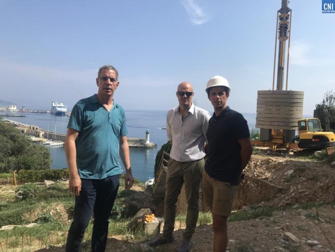 Image d'archive CNI : le 29 août, Pierre Savelli, Jérôme Terrier et Jean-Philippe Spinelli.