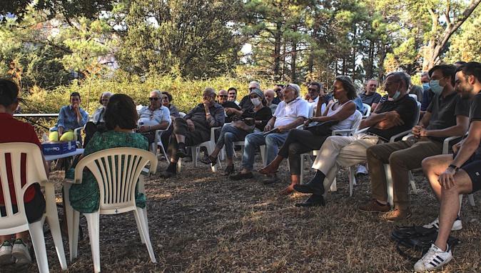 """""""Pa Bavedda"""" : les  propriétaires associés de Bavella forment un territoire homogène d'environ 3 000 hectares"""