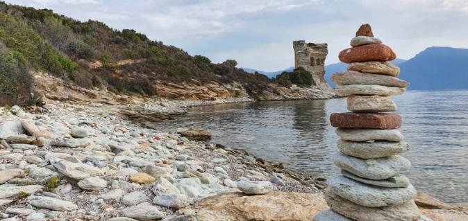 La photo du jour : la tour de la Mortella
