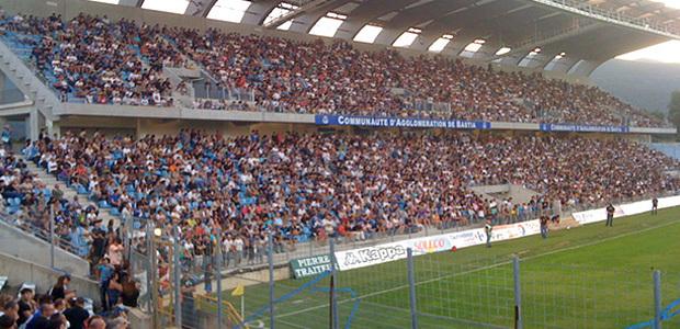Furiani : SC Bastia-OM à huis clos !