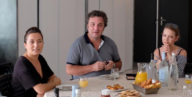 Josepha Giacometti rencontre Ludovic Tézier et la soprano Cassandre Berthon