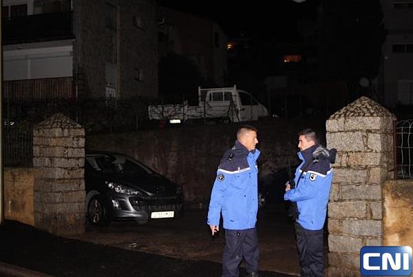L'entrée de la résidence où a été perpétré le 20e assassinat de l'année
